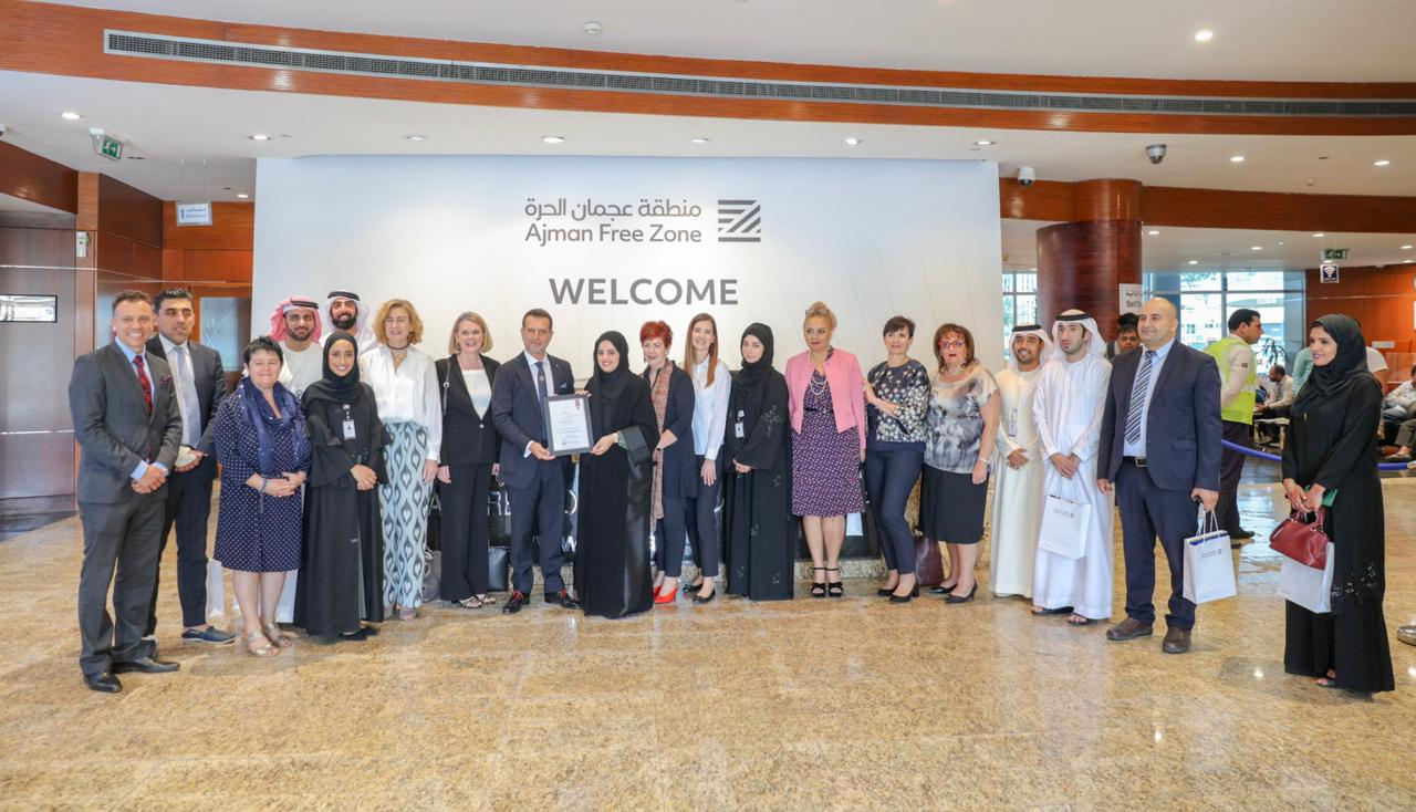 ajman-free-zone-received-a-delegation-of-australian-businessmen-and-women