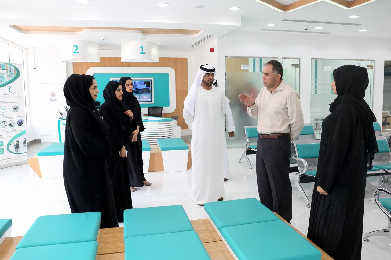 ajman-free-zone-team-visits-laiq-medical-screening-center-to-discuss